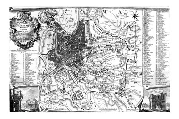 1551 bufalini map